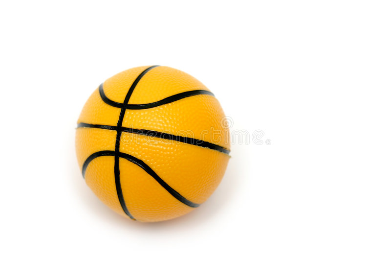 Small Basketball Toy royalty free stock photography