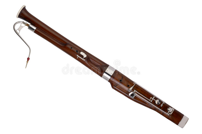 Small Bassoon for Kids stock image