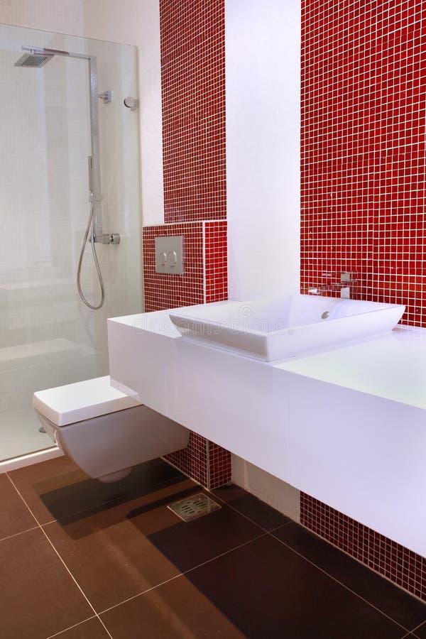Small bathroom stock photography