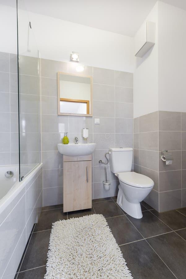 Small bathroom in scandinavian style stock photo image of rental cabinet 44126520 - Image of bath room ...