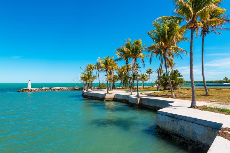 Small Bay in Marathon Florida Keys stock photos