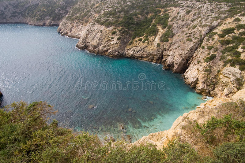 Small Bay In Portugal Stock Image