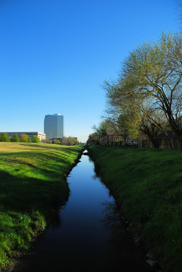 Download Small bayou in Houston stock image. Image of rise, spring - 4603955