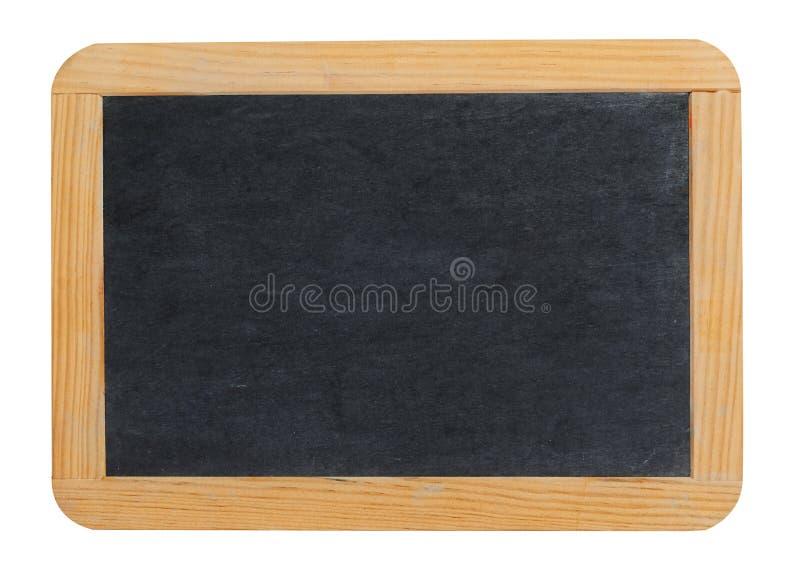 Small blank blackboard or school slate royalty free stock images