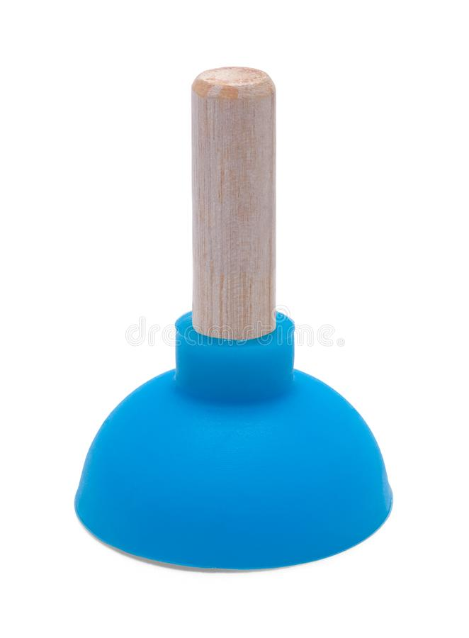 Small Blue Plunger royalty free stock photos