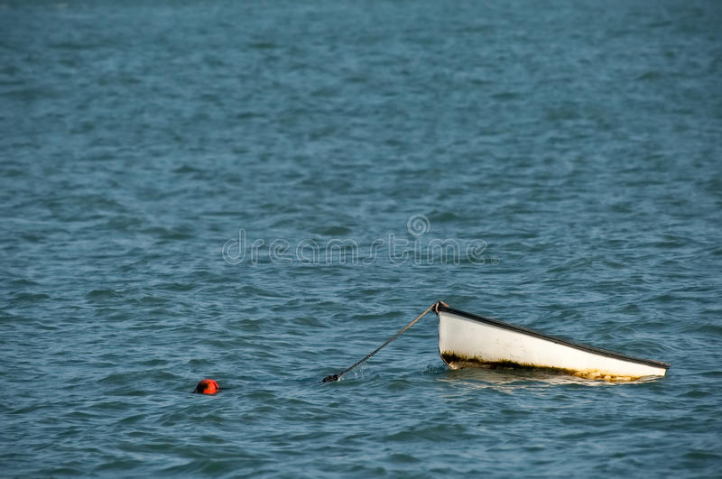Download Small boat stock image. Image of moored, danger, small - 17322519