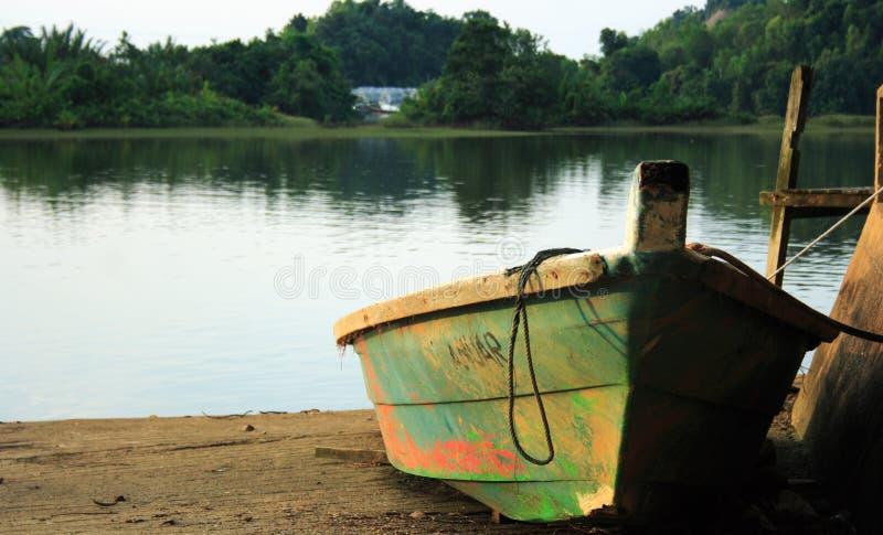 Download Small Boat Lake Shore stock photo. Image of lake, hull - 7017140