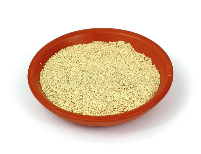 Download Small Bowl Active Dry Yeast Stock Photo - Image: 15576086