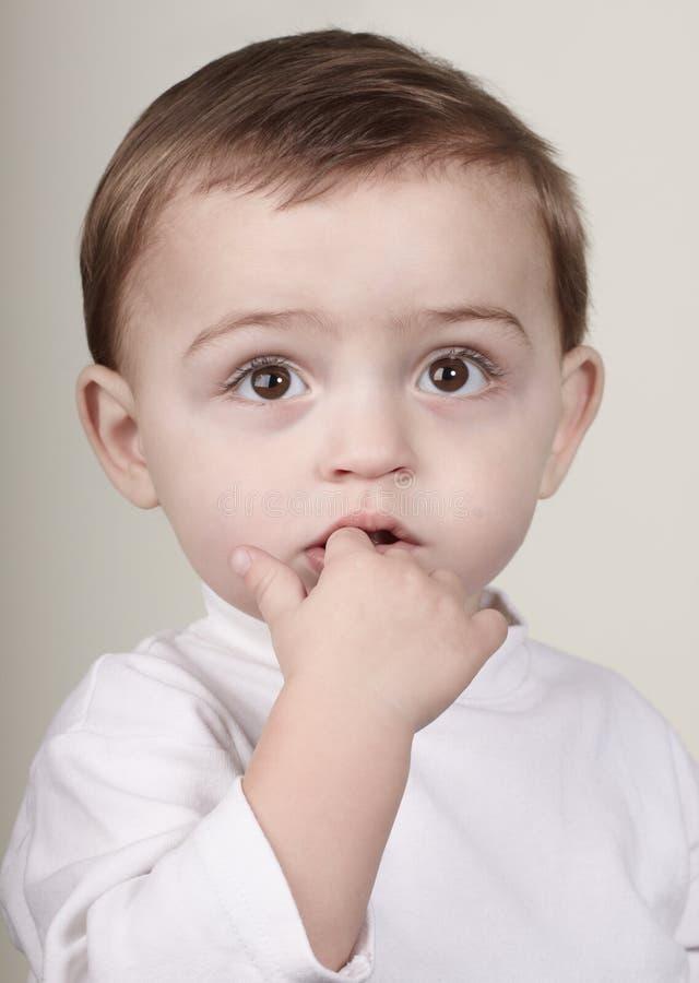 Small boy stock photography