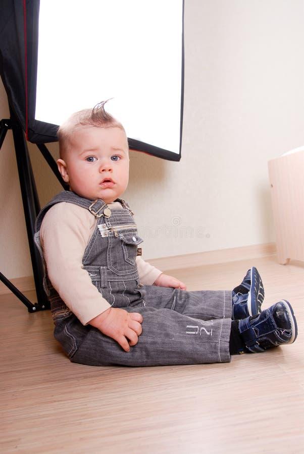 Small boy royalty free stock photo