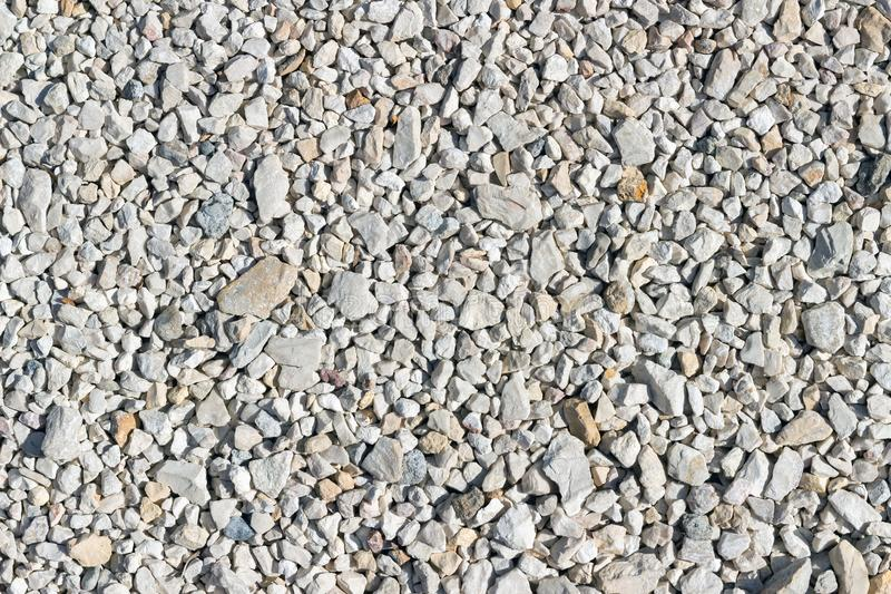 Small bright stones for use as a background stock photography