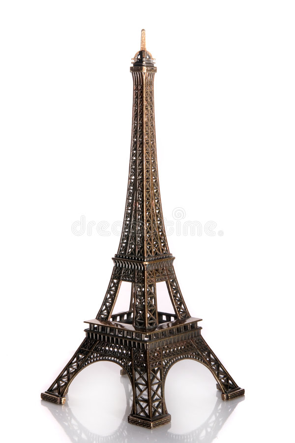 Download Small Bronze Of Eiffel Tower Figurine Stock Image - Image: 3649369