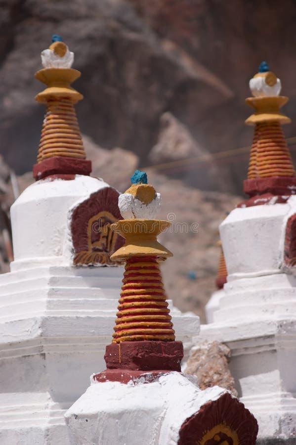 Small buddha temple stock image