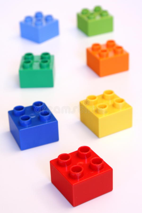 Small Building Blocks Stock Images