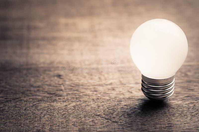 Small Bulb, Start Idea stock photo