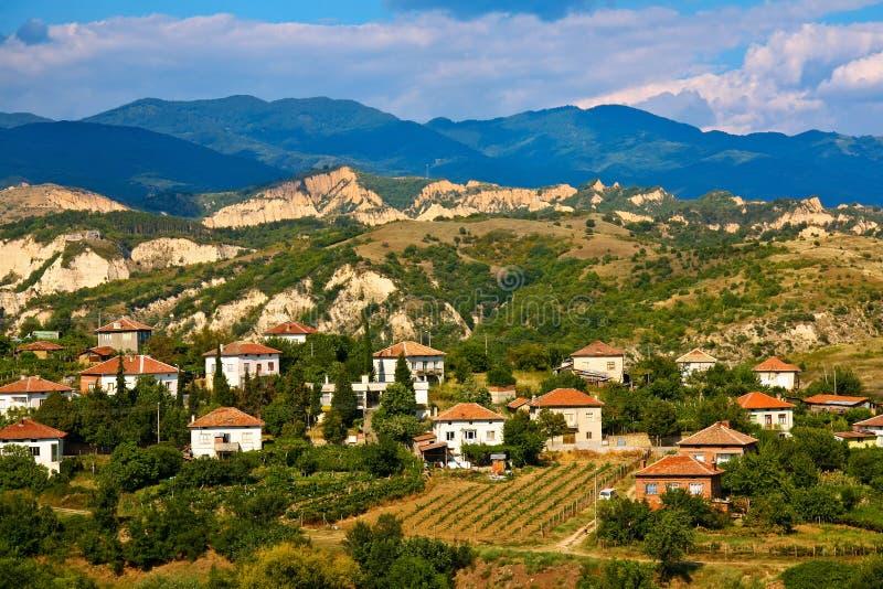 Small Bulgarian Village stock photos