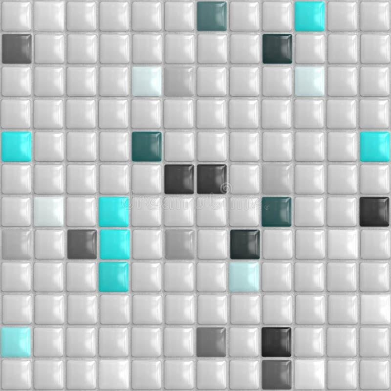 Small bumpy tiles royalty free illustration