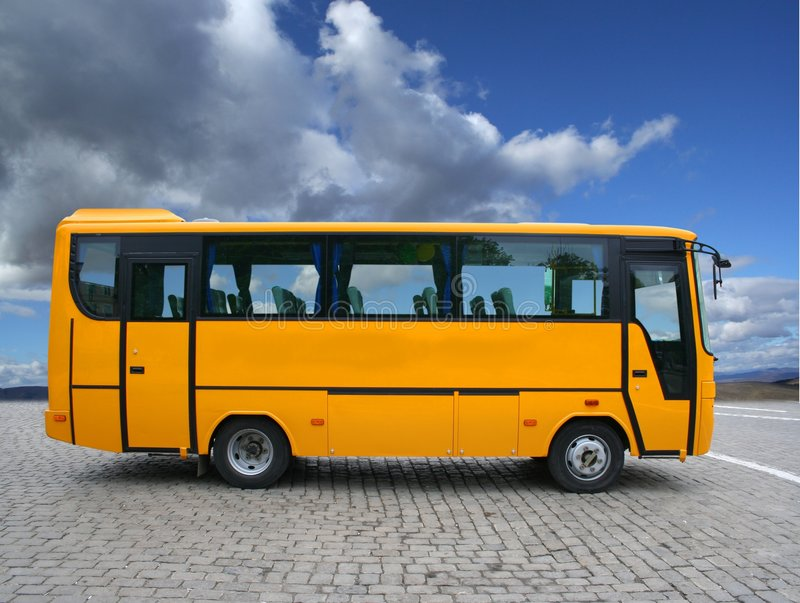 Download Small bus stock image. Image of transportation, tour, road - 4985025