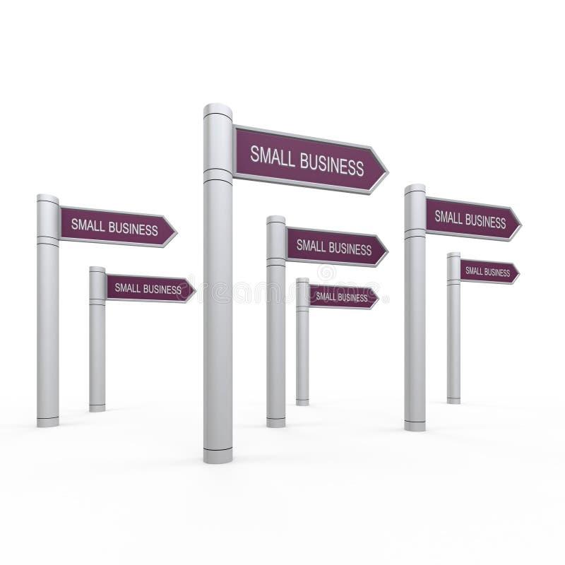 Small business stock illustration