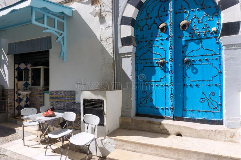 Small Business in the Medina in Sousse, Tunisia royalty free stock photo