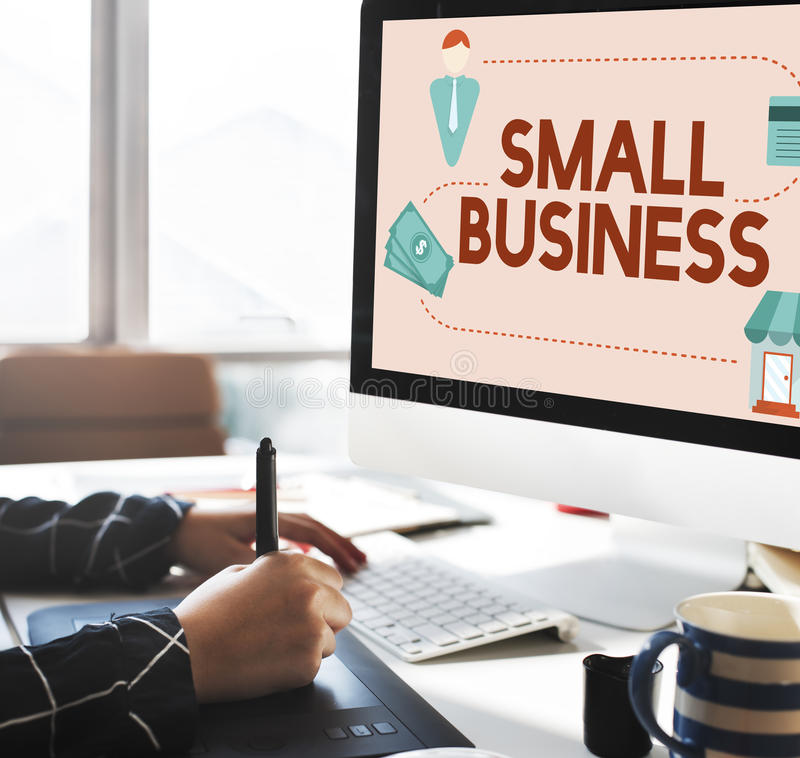 Small Business Niche Market Products Ownership Entrepreneur Concept stock photos