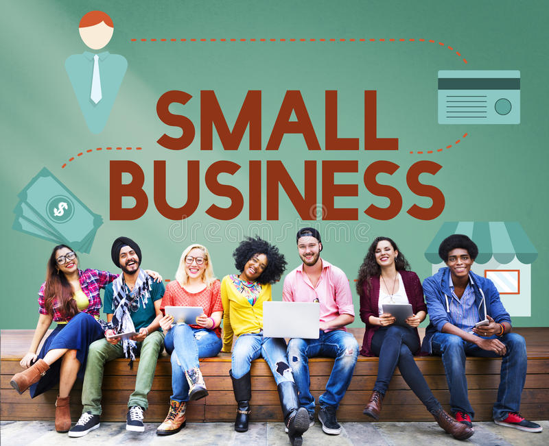 Small Business Niche Market Products Ownership Entrepreneur Concept stock images