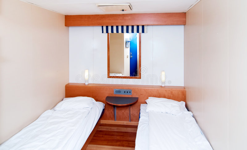Small Cabin Room royalty free stock images