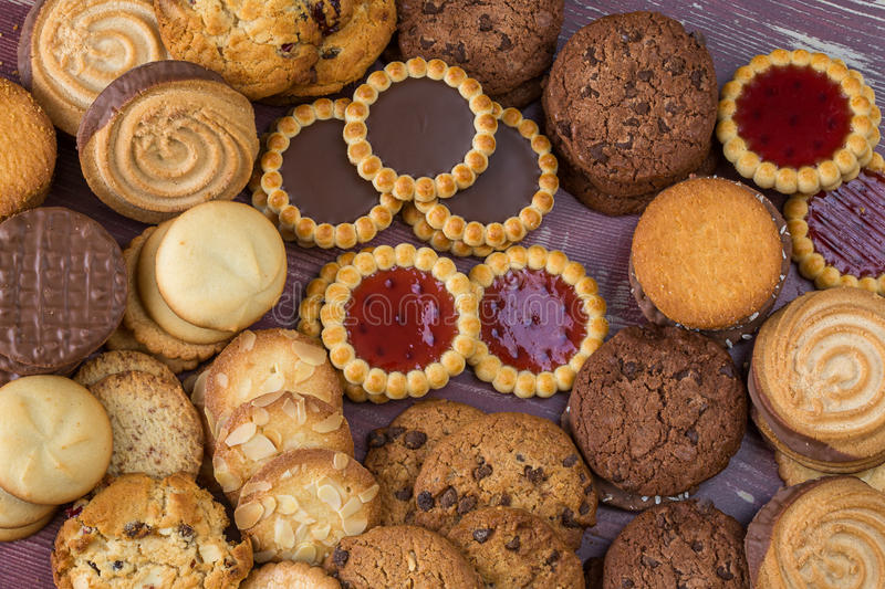 Small cakes for all guts royalty free stock photos