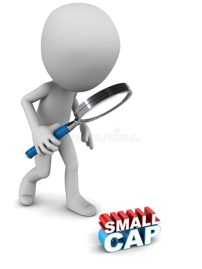 Small cap fund royalty free illustration