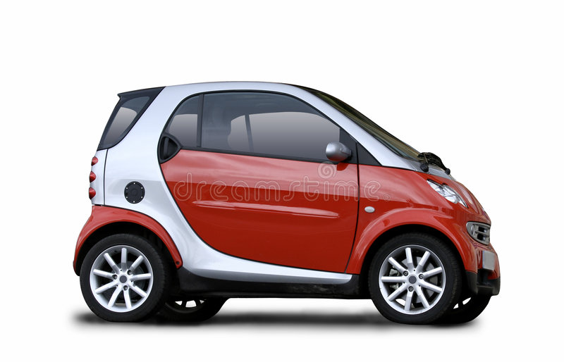 Small car royalty free stock photography