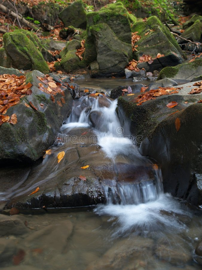 Download Small cascade waterfall stock image. Image of sandstone - 7358699