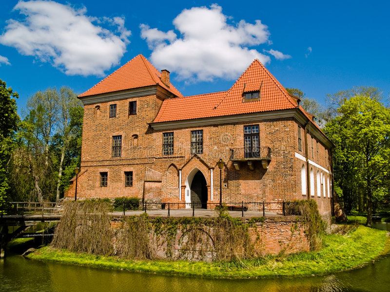 Small Castle stock photography