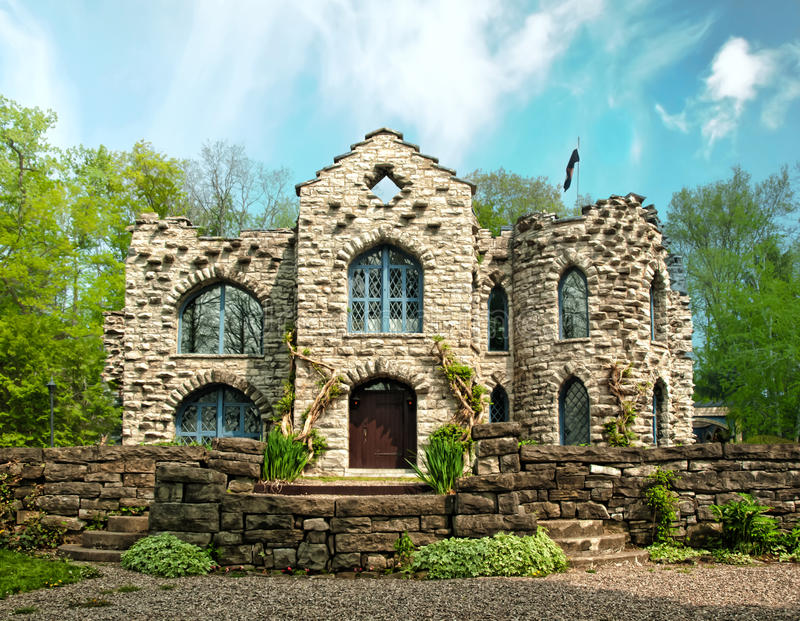 Download Small castle stock image. Image of stone, small, wall - 31109963
