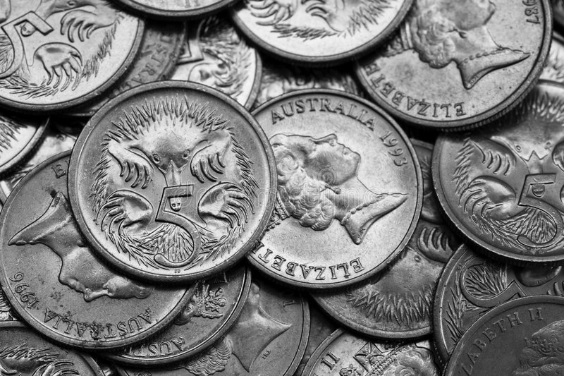 Download Small Change stock image. Image of five, spikey, australia - 6561293