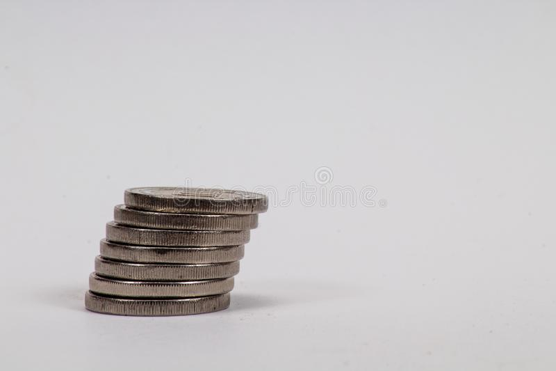 Money. Small change money royalty free stock photography