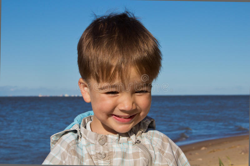 Download Small child stock image. Image of nature, expression - 25437409