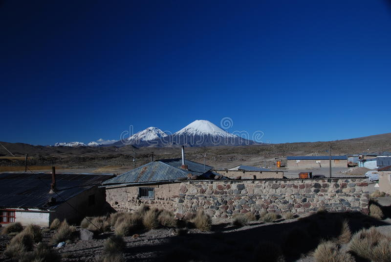 Small Chilean town royalty free stock images