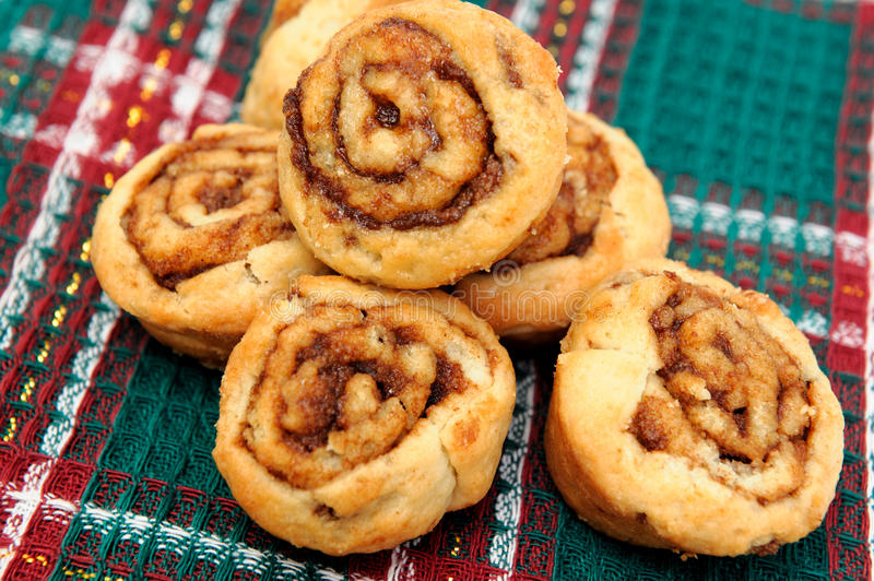 Small Cinnamon Rolls royalty free stock images