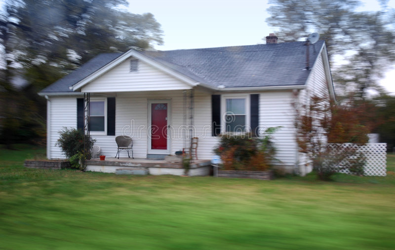 Small country home. royalty free stock images