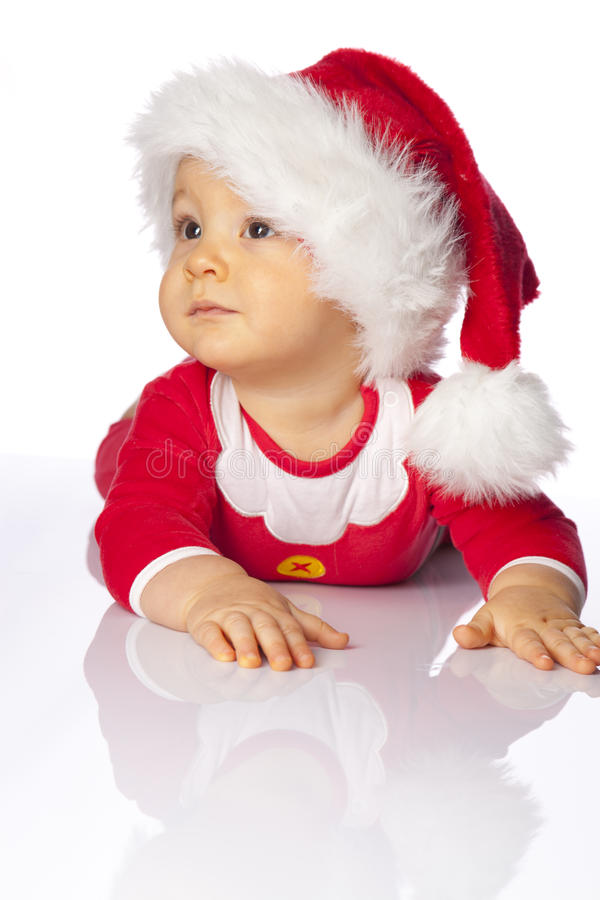 Small cute santa royalty free stock images