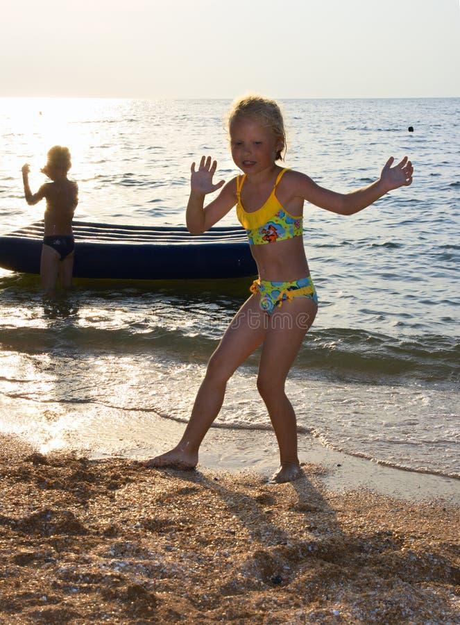 Small dance girl
