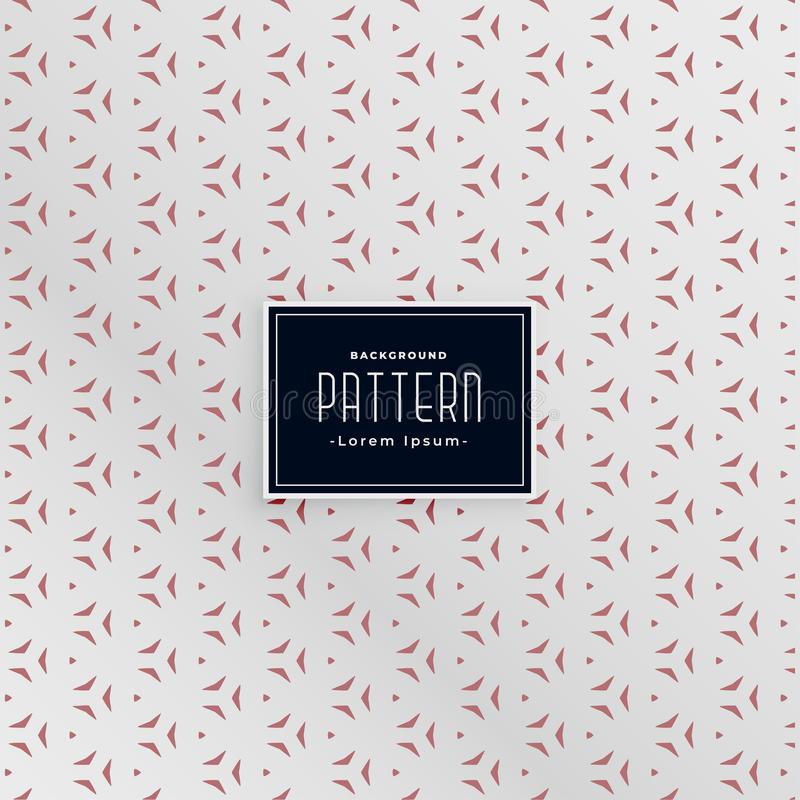 Small decorative abstract pattern background royalty free illustration