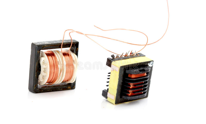 Small device Transformer stock photo