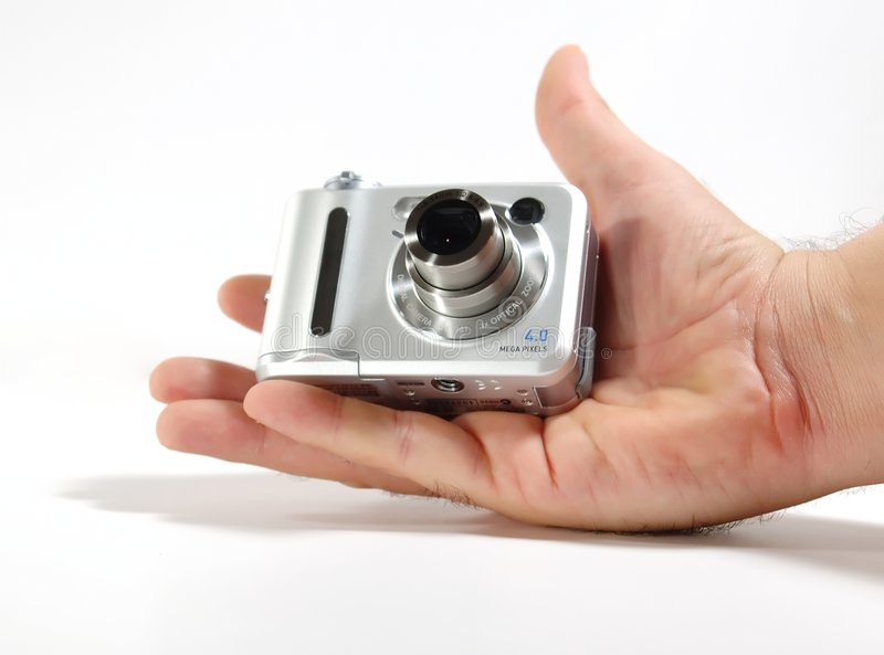 Small digital camera stock photography