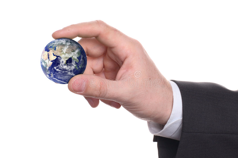 Download Small Earth In A Hand 2 Stock Photos - Image: 4752423