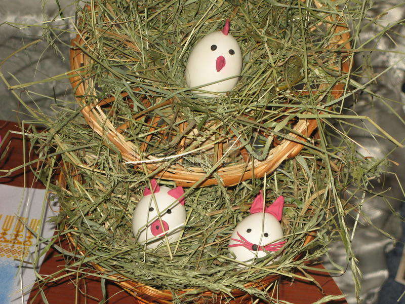 Small Easter still life royalty free stock photography