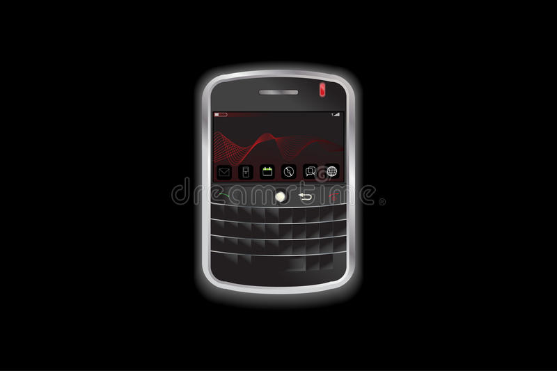 Download Small Electronic Communication Phone Device Stock Vector - Image: 12890186