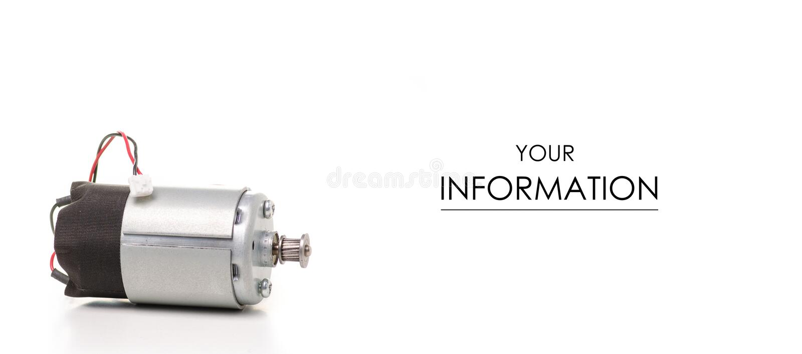 Small engine industry pattern. On white background isolation royalty free stock photos