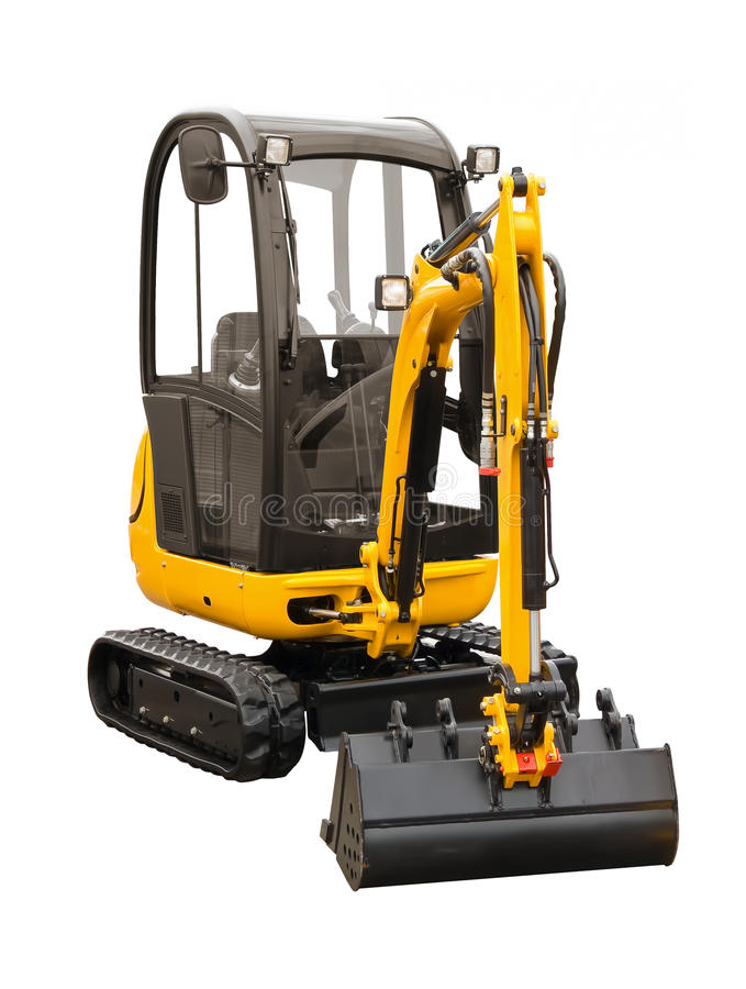 Download Small excavator stock image. Image of digger, equipment - 21550083