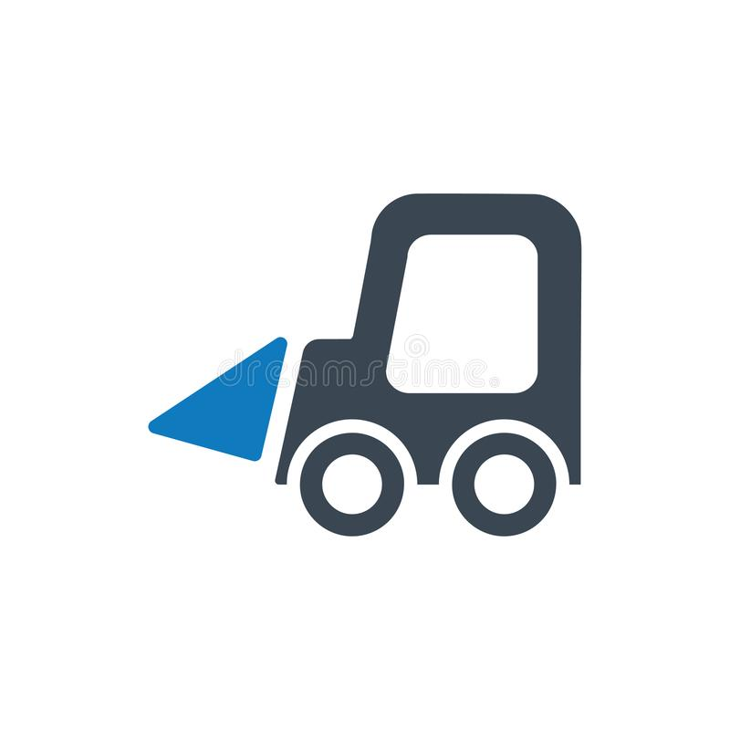 Small Excavator Icon. Beautiful, Meticulously Designed Small Excavator Icon vector illustration